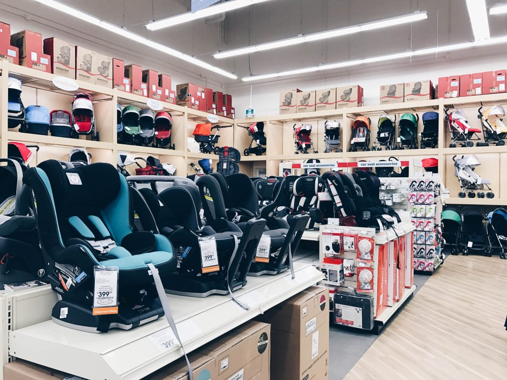 Strollers and Car Seat Selection at Buy BUy Baby in Langley, BC