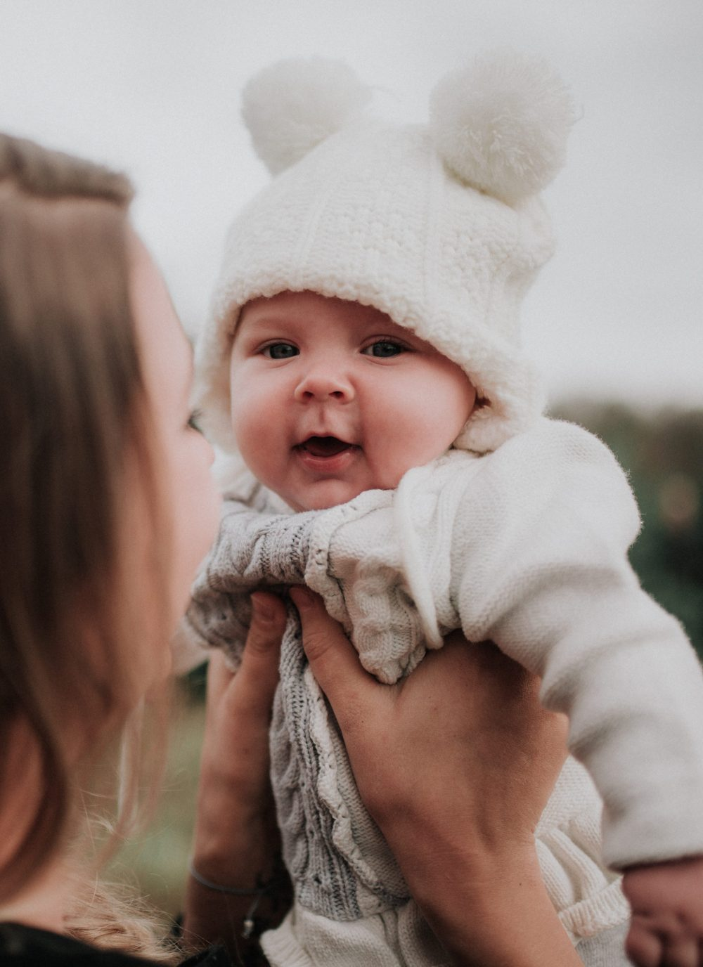 Mom and Baby | Christmas Family Photos with kids