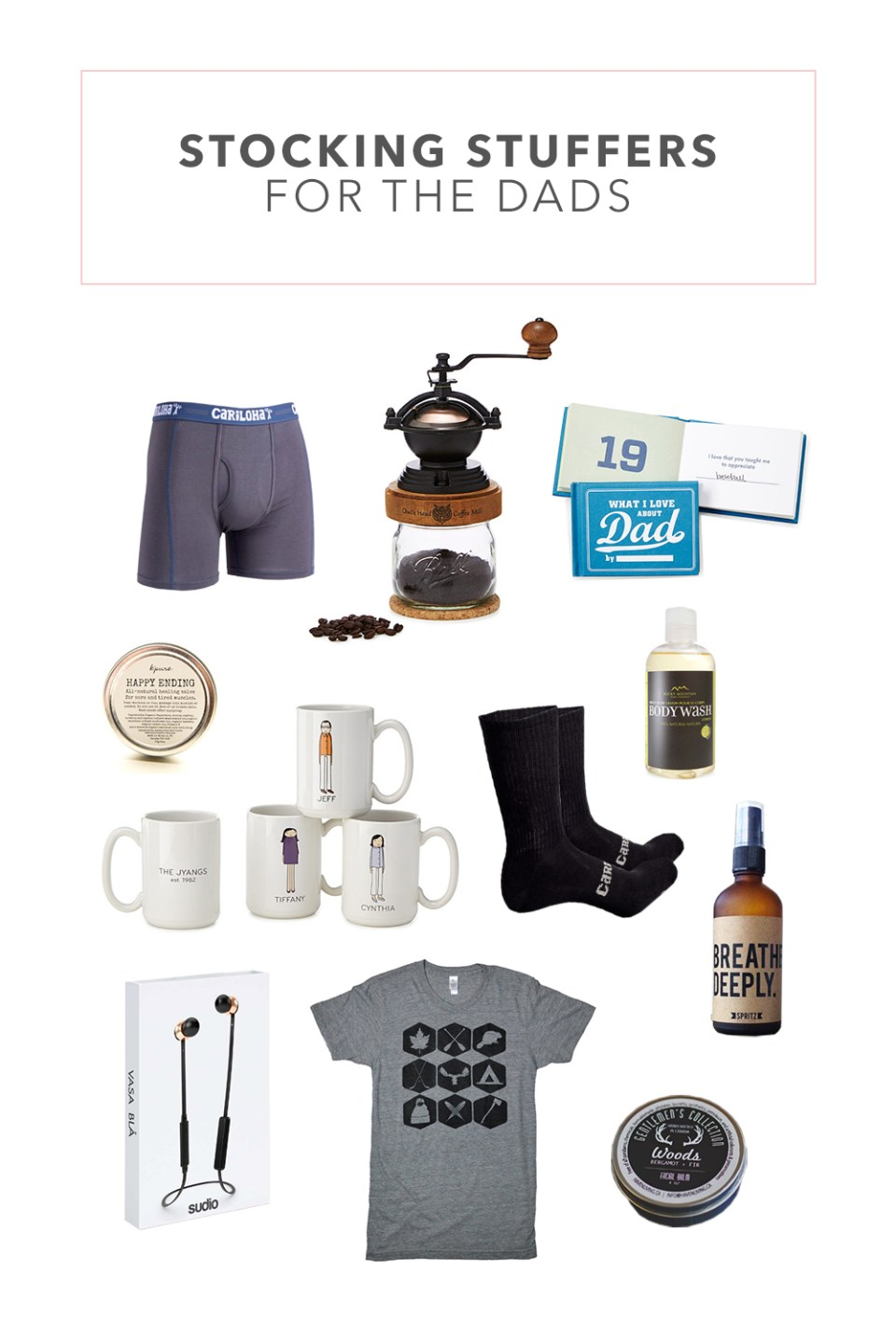 Stocking Stuffer Ideas for Dads in our Lives | Male Stocking Stuffers | Gifts for Men