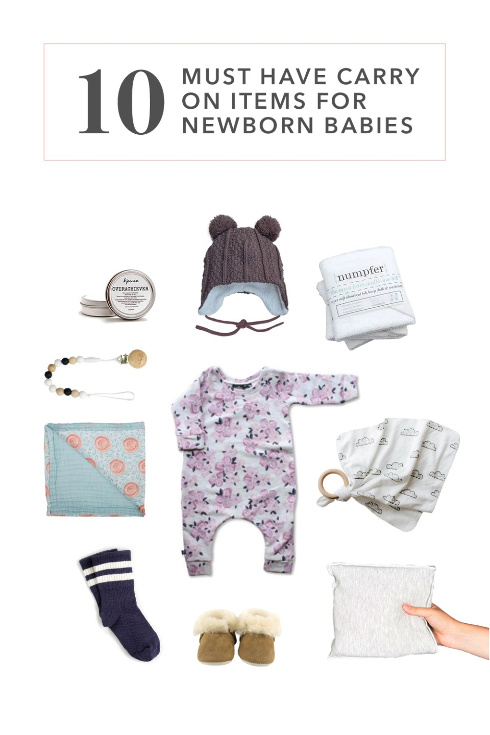 10 Must Have Carry On Items for Newborn Babies | What to pack in your carry on | Travelling with a baby