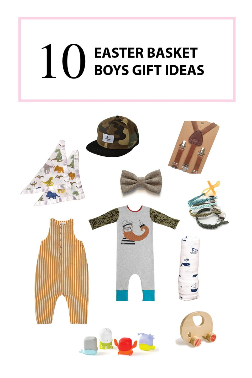 Boys Easter Basket Gift Ideas | The Baby Cubby