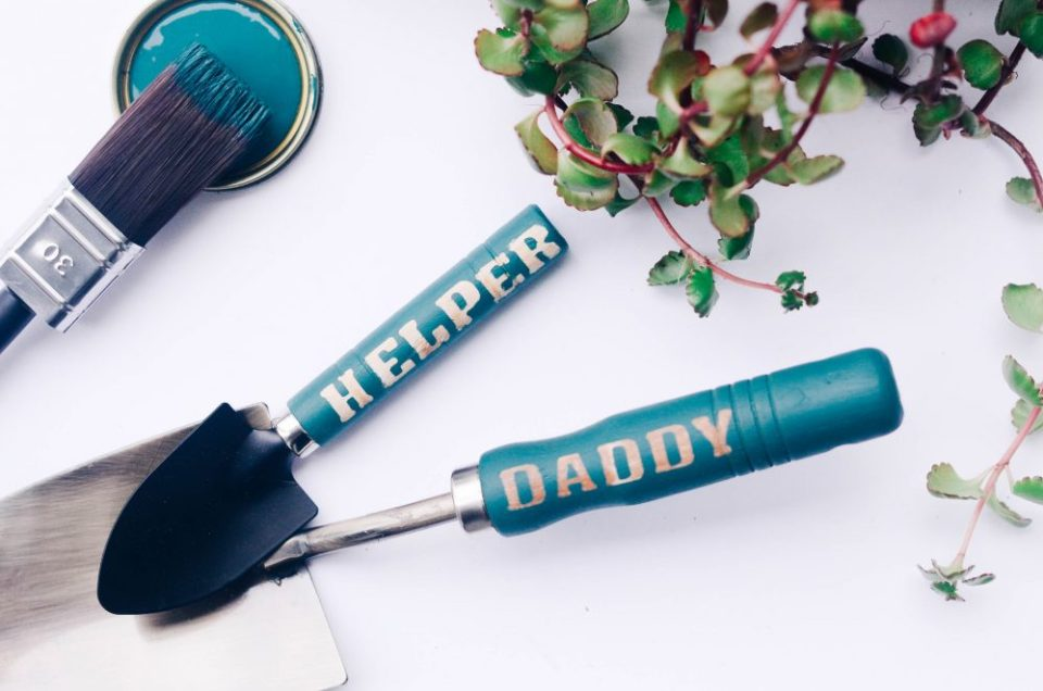 DIY Personalized Garden Tools