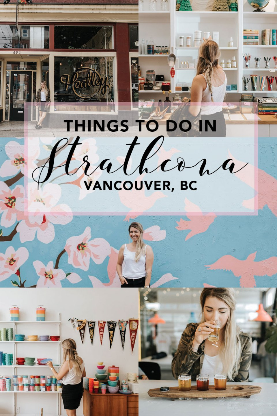 Explore Strathcona | Vancouver BC // Things to do and places to see within the neighbourhood and along East Hastings Street. Strathcona Brewing, London Fields Shoppe, Cheese, and more! Photo by Juliechristinephotography.com