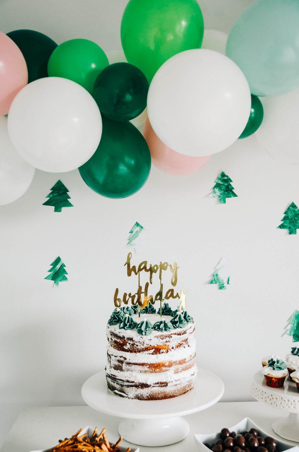 Woodland Fourest Forest Themed Birthday Party Decor DIY Ideas