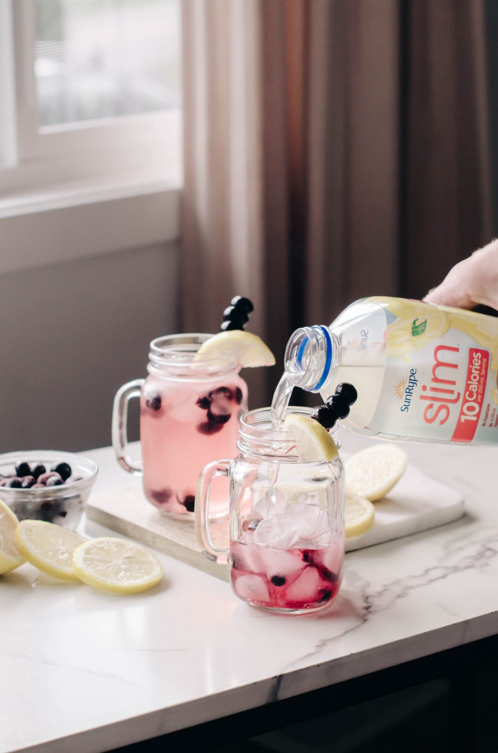 Low Calorie Blueberry Vodka Drink Recipe