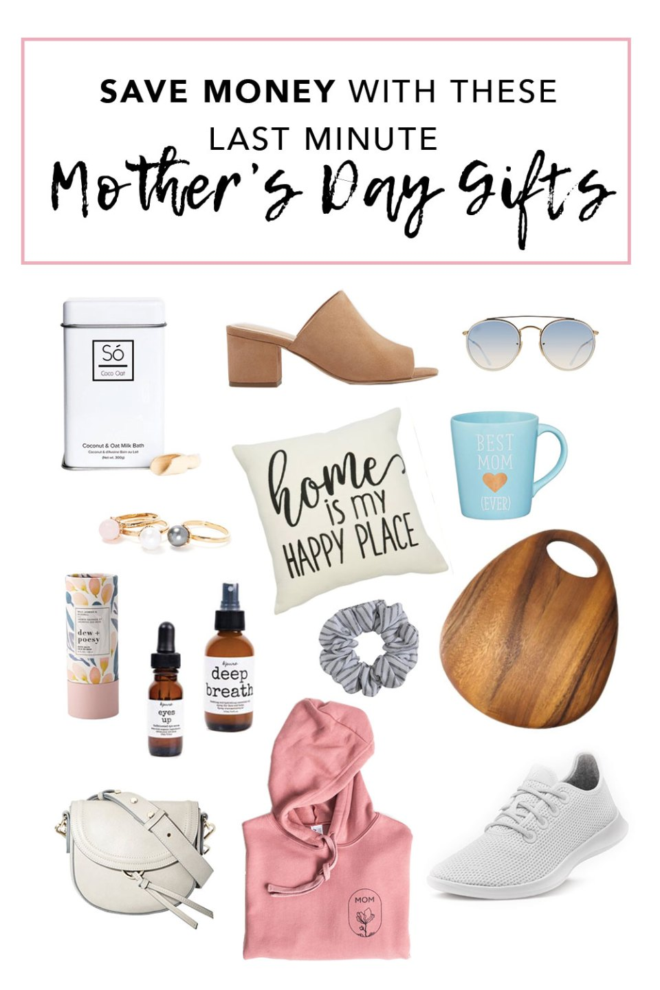 Save Money With these Last minute Mothers Day gifts