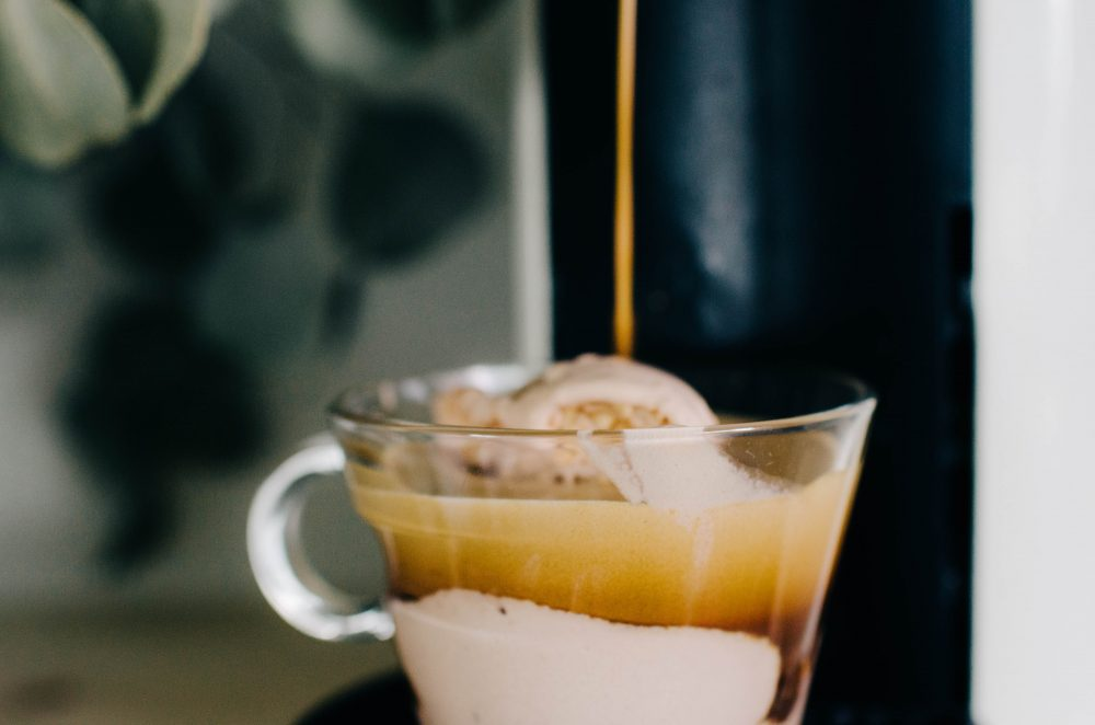 How to Make an Affogato | Easy steps for making this coffee dessert recipe using a Nespresso