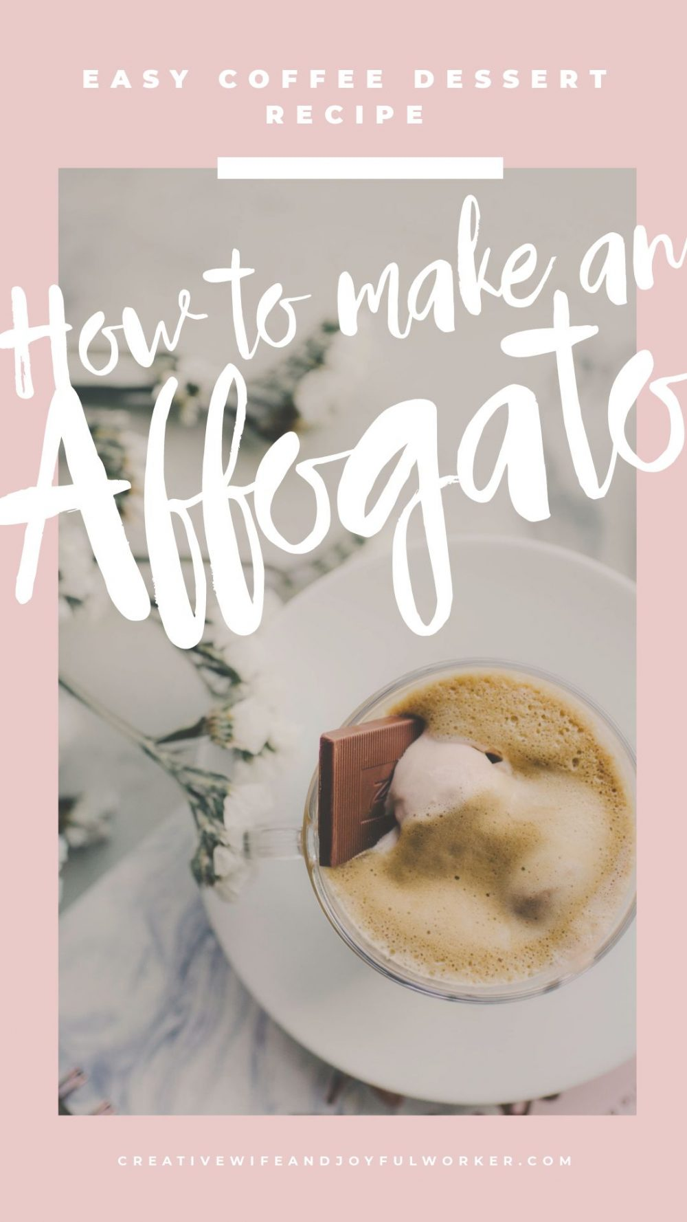How to Make an Affogato | Easy Coffee Dessert Recipe using a nespresso