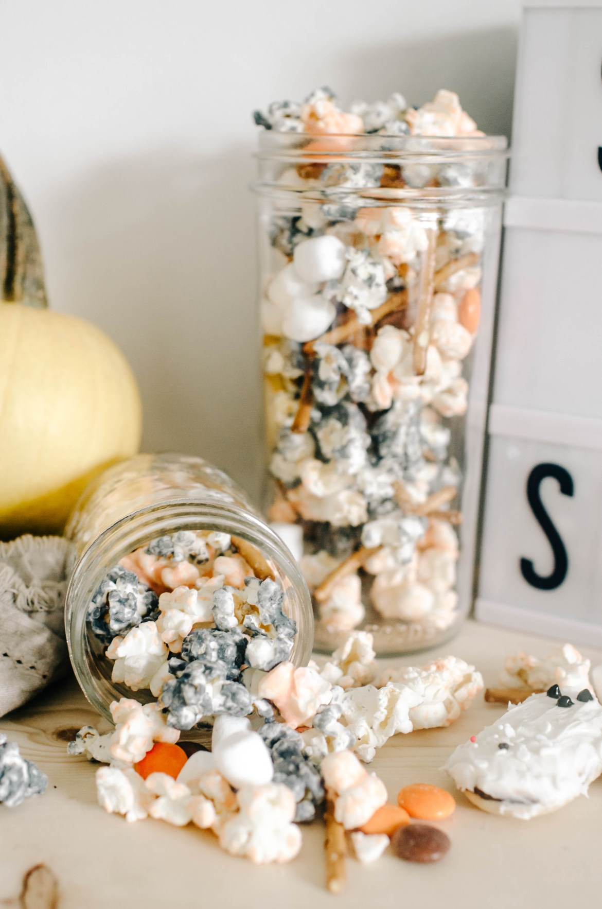 Ghosts & Ghouls Popcorn | 10 Simple Halloween Decor Ideas, DIY Crafts & Recipes