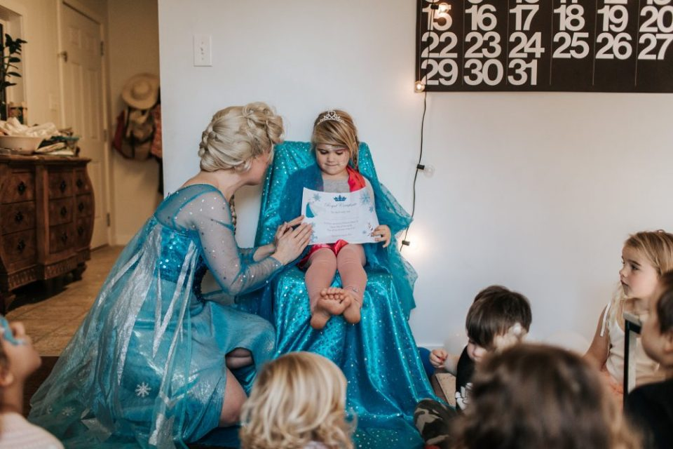 Frozen / Elsa Themed Princess Party in Vancouver and the Lower Mainland