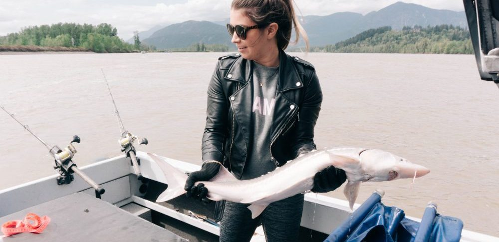 Girls Fishing Trip in Harrison Hot Springs with BC Sports Fishing Group