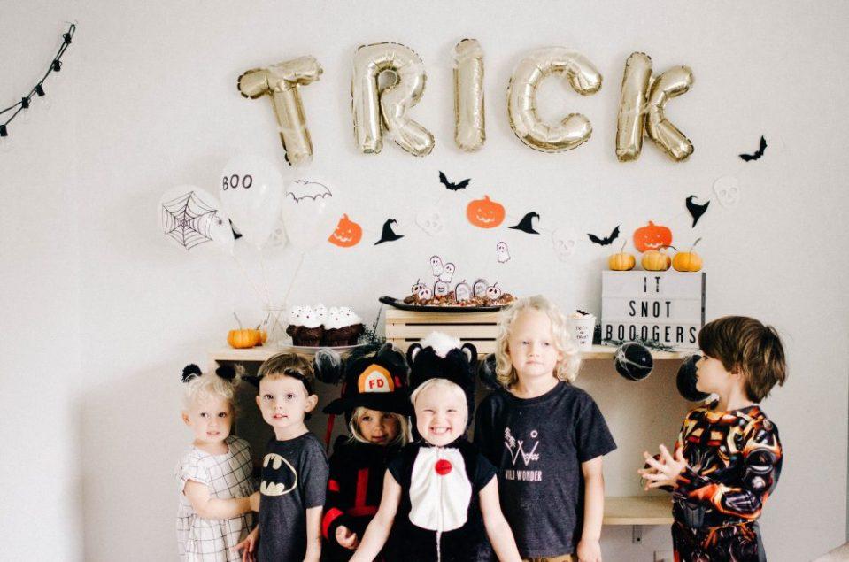 Kids Halloween Party Decor Ideas