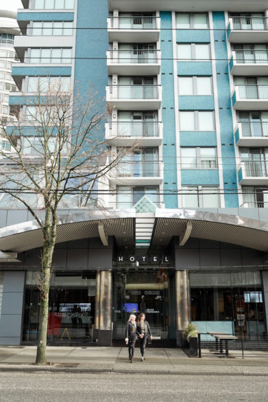 Hotel on Robson Street Vancouver Bc | Where to stay on Robson Street