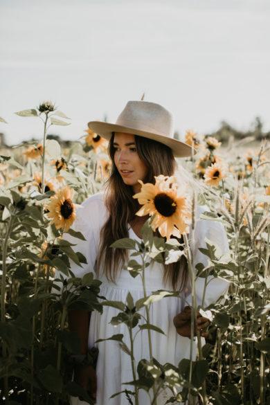 Sunflower Farm Cultus Lake photo of Creative Wife and Joyful worker