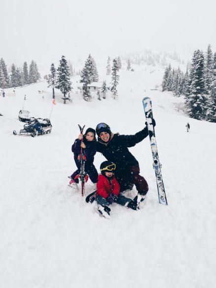 Skiing at Fraser Valley Mountain at Sasquatch Mountain Resort