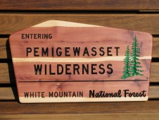 """This sign is 23""""wide x 13"""" high x 3/4"""" thick, western red cedar."""