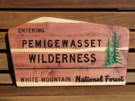 "This sign is 23""wide x 13"" high x 3/4"" thick, western red cedar."
