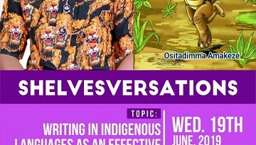 Event # iyil2019 / CWN Will Be Tweetchatting With Ositadimma Amakeze About His Recent Fable Titled, Anụ Gbaa Ajọ Egbe