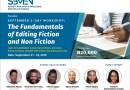 Register For The Upcoming SBMEN Fiction and Non-Fiction Editing Workshop for Editors and Writers Billed To Hold This September