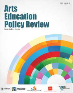 cover art from Arts Education Policy Review journal