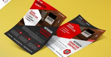 Best Corporate Flyer Template PSD Free