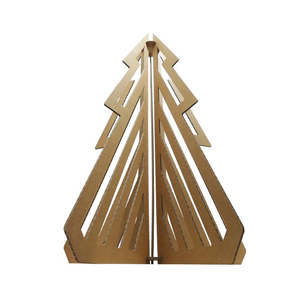Sapin de noel pr vert design et en carton made in - Sapin de noel carton ...