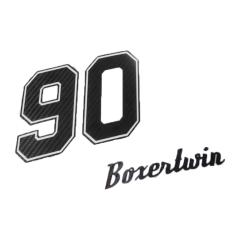 Kit stickers «Boxer twin 90» pour BMW Nine T