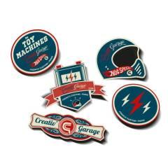 Kit stickers Creativ Garage