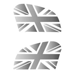 Pads de réservoir «Union Jack» pour Royal Enfield Continental GT 650