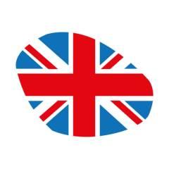 Sticker de phare «Union Jack» Couleurs pour Triumph Speed / Street Triple 2016