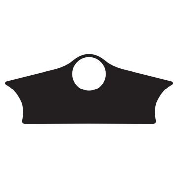 sticker de protection de T de fourches triumph speed triple