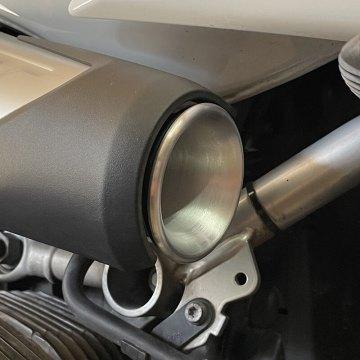 Écope de prise d'air en aluminium pour BMW Nine T - Sans Grille