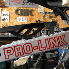 Stickers «PRO-LINK» pour Honda Dominator 650