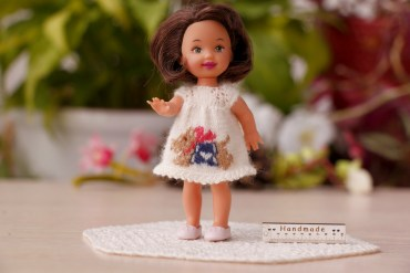 kelly doll dog dress