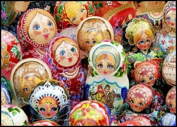 Matryoshka doll is a symbol of Russia!