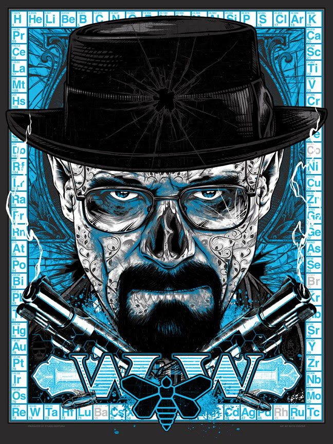 Rhys-Cooper-Breaking-Bad-Heisenberg-Print-Blue-Meth-BAD-2-BONEZ