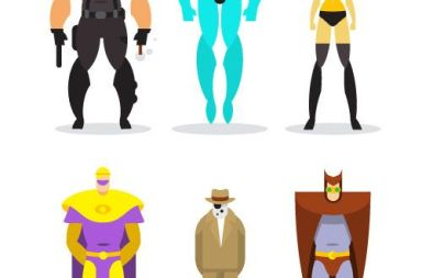 superheroes creatividad