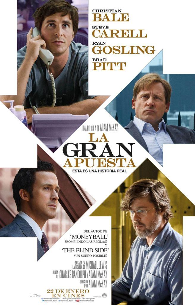 'La gran apuesta' cartel