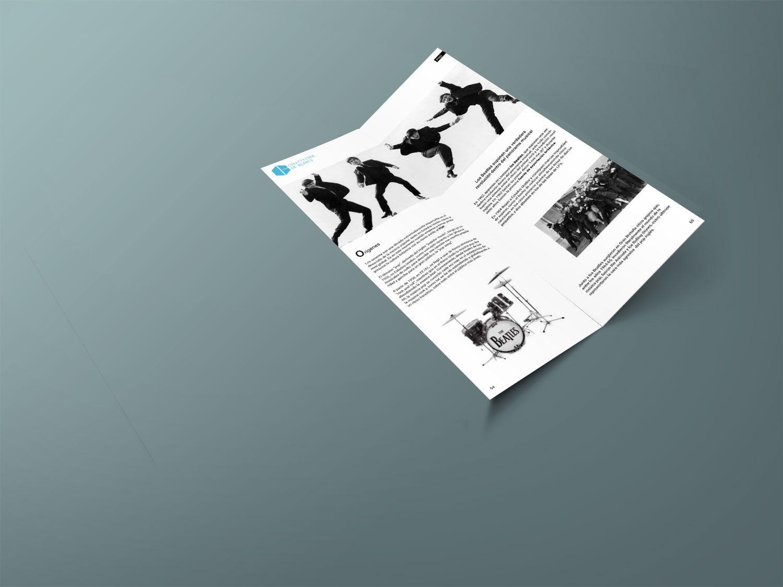 revista tipografia musica seccion pop