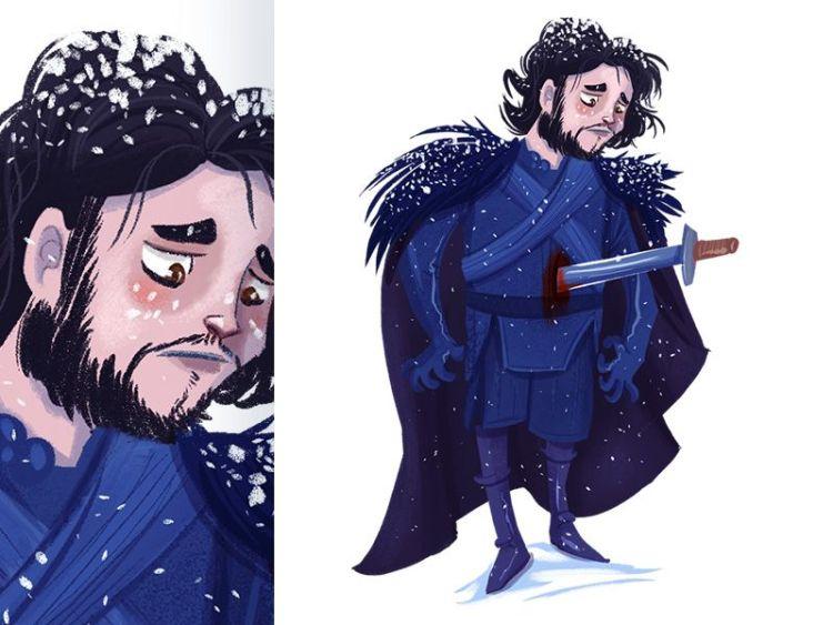 juego de tronos ilustraciones