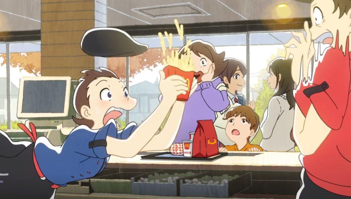 McDonald´s ha creado esta campaña de estilo anime
