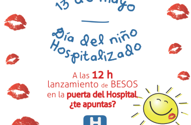 dia del niño hospitalizado cartel