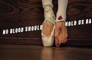 spot mujer regla bailarina que la sangre no te pare