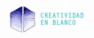 logo creatividad en blanco