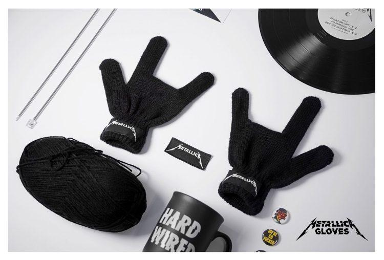 campaña guantes metallica nuevo album