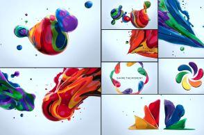 motion graphics nbc creatividad color