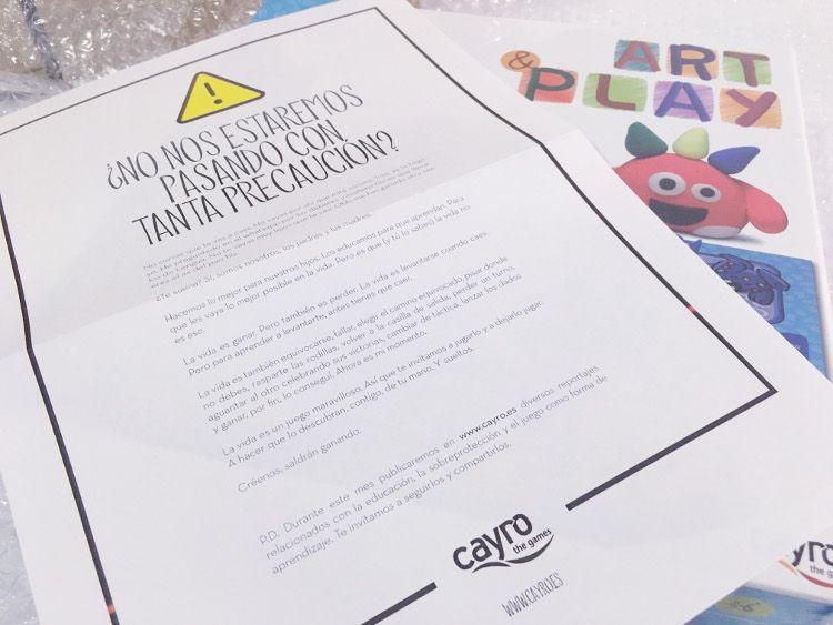juguetes cayro ,muy fragil campaña marketing directo