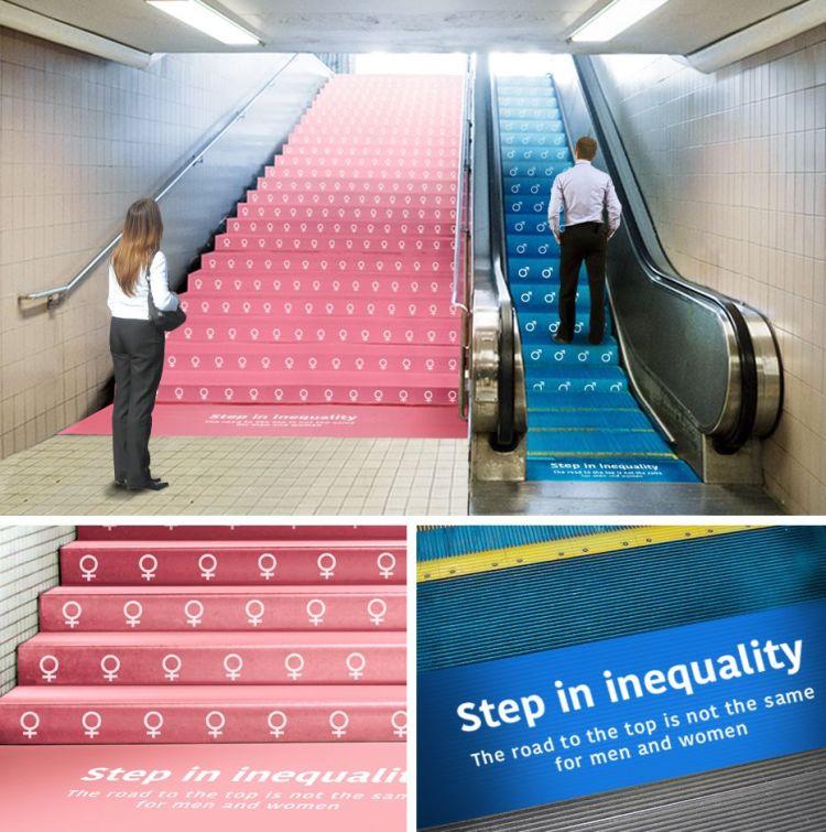 desigualdad de género entre hombre y mujeres