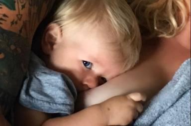 Breastfeeding redes sociales