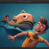 Diseño de personajes por Sergio Edwards